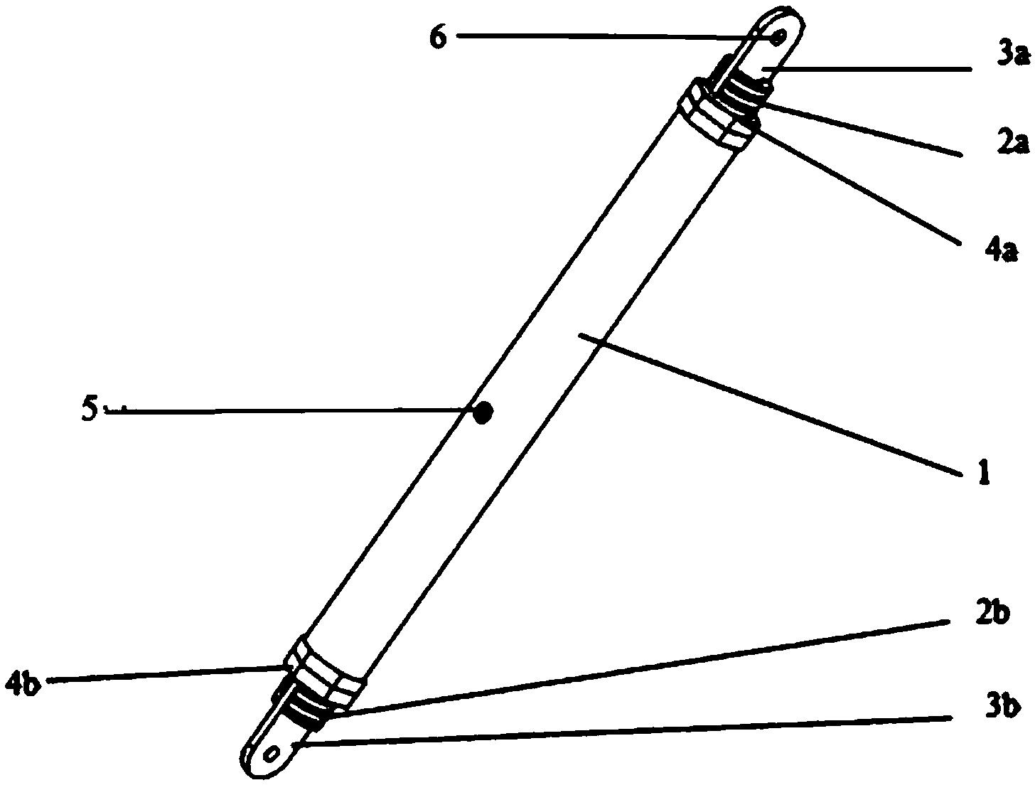 跨座式单轨交通先简支后刚构体系的丝杠千斤顶